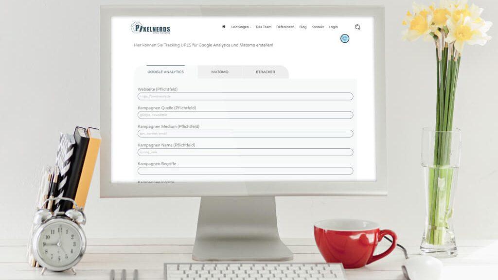 Pixelnerds Online Marketing Trackingparameter