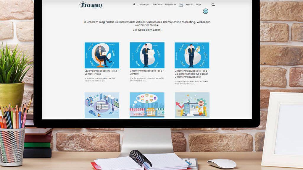 Pixelnerds Corporate Blog