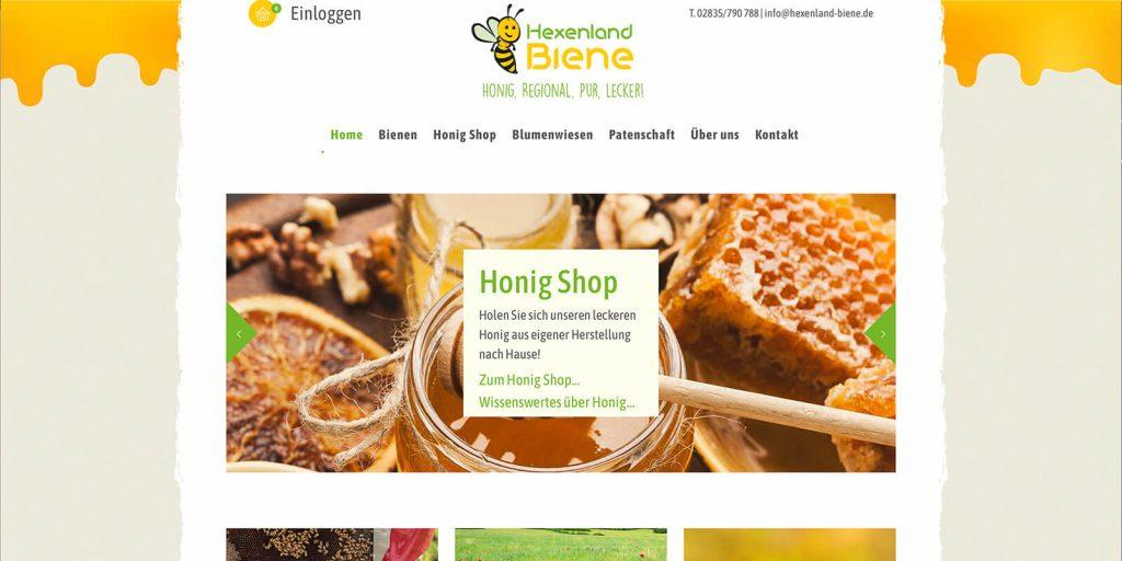 Hexenland Biene